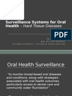 Oral Health Surveillance - USA