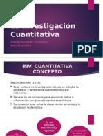 La Investigación Cuantitativa - Sandra Riquelme