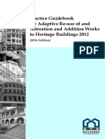 COP - Heritage_2016 - Practice Guidebook for Adaptive Re-use of and Alteration and Addition Works to Heritage (160719)