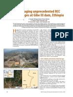 Gibe III Hydropower Dams