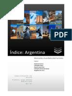 Indice Final Del Proyecto Argentina
