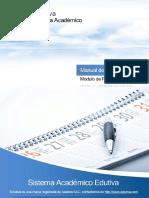 Manual de Programación - Edutiva ERP