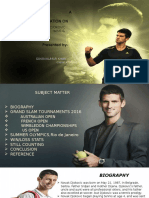 Novak djokovic ppt