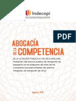 AdC Transporte Publico Pasajeros Lima