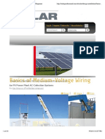 Basics of Medium-Voltage Wiring | SolarPro Magazine