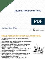 Concepto,Origen y Tipos de Auditoria
