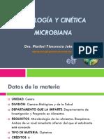 Fisiología y Cinética Microbiana Temario