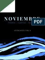 NOVIEMBRE Antologia de Cuentos & Poemas Ineditos Vol. 6
