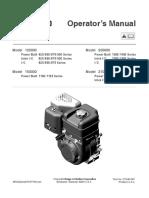 BRIGGS & STRATTON engine manual BAJA