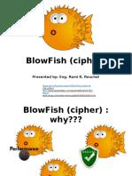 BlowFish (Cipher) 20161124