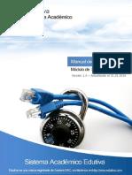 Manual de Seguridad - Edutiva ERP