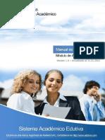 Manual de Admisión - Edutiva ERP