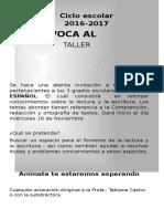 SE CONVOCA AL taller de español.docx