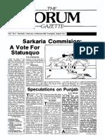 The Forum Gazette Vol. 3 No. 3 February 5-19, 1988