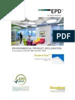 EPD 794 Ecophon SoloFamily