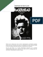 Eraserhead de David Lynch