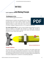 Zero Speed Switch Working Principle Instrumentation Tools