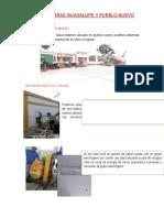 Visita a Obras Guadalupe y Pueblo Nuevo Instalaciones Eléctricas