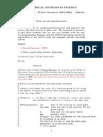 Numerical Methods in Physics