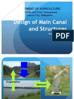 9 Design of Main Canal and Structures(New) (1)