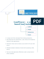 LoadTracer - a Web Based Load Testing Tool