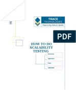 How to Do Scalability Testing