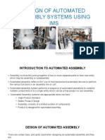 Design of Automated Assembly Systems