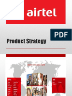 Airtel Product Strategy