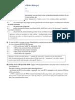 Respostas e Comentários - Lista Vírus e Fungos