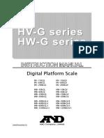 AND HWG 60 KGL Manual Book