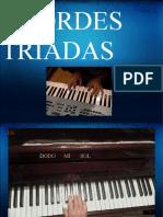 ACORDES TRIADAS