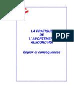 Mémoire IVG Faculté de Médecine de Marseille