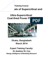 1. Fundamentals of Supercritical and Ultra-Supercritical Coal-fired Power Plants - Programme Outline