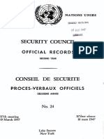 Official Records 2nd Year, No24 117 Meeting (10 March 1947)