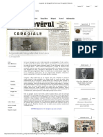 Legende Ale Biografiei Lui Ion Luca Caragiale _ Historia
