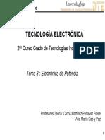 Tema 11 Electronica de Potencia