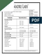MLI-00952-CertofAnalyses
