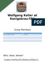 Wolfgang Keller at Konigsbrau-TAK Presentation