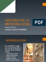 Historia de La Medicina Forense 2da Clase