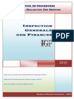 Inspection Generale Des Finances