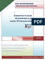 Inspection Generale Des Finances
