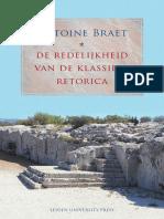 Braet—de Redelijkheid Van de Klassieke Retorica