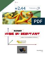 Guide Du Debutant Sous Blender