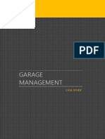 Automobile Garage Management