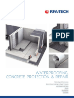 RFA-TECH Waterproofing Brochure