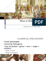 1 What is Philosophy