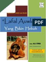 Lafal Auwloh Bikin Heboh