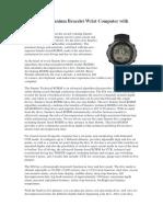 Suunto DX Titanium Bracelet Wrist Computer with USB.pdf