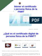 Guía Obtención Certificado Digital