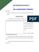 compresion triaxial informe